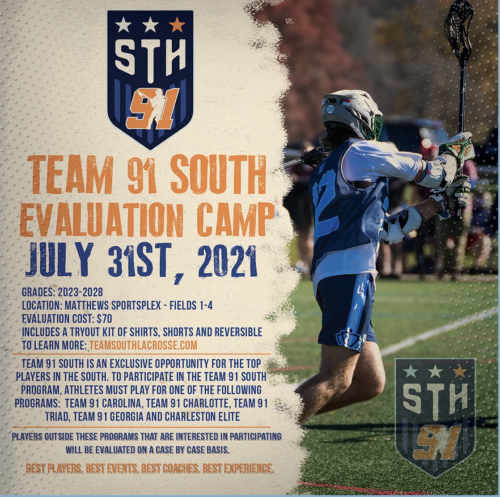 Team 91 South Tryouts